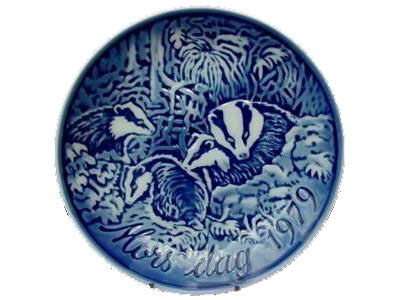 1979 Badger relief plate